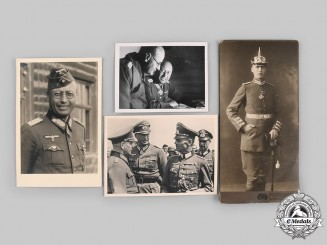 Germany, Wehrmacht. A Lot of Photographs of a Heer General, Knight's Cross Recipient