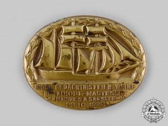 Germany, SA. A 1933 Sturmabteilung (SA) Marine Reunion Badge