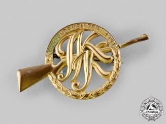 Germany, Weimar Republic. A 1931 Marksmanship Association Badge by Eugen Schmidthäussler