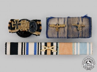 Germany, Wehrmacht. A Lot of Medal Ribbon Bars