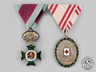 Austria, Imperial. A Lot of Two Decorations (Rothe Copies)