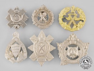 Canada. A Lot of Six Glengarry Badges (Post 1945 Manufacture)