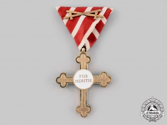 Austria, Imperial. An Ecclesiastical Cross of Honour, Gold Grade with Swords (Rothe Copy)