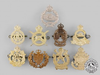 Canada. A Lot of Cap Badges (Post 1945 Manufacture)