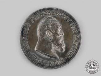 Bavaria, Kingdom. An Agricultural Association 100th Anniversary Table Medal, c.1910