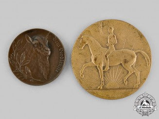 Germany, Weimar Republic. A Lot of Livestock Breeding Merit Table Medals, c.1920