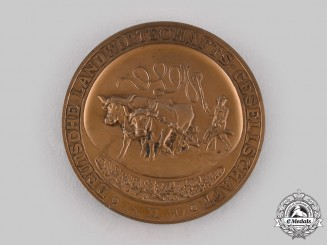 Germany, Weimar Republic. An Agriculture Society Table Medal for Merit, c.1930.