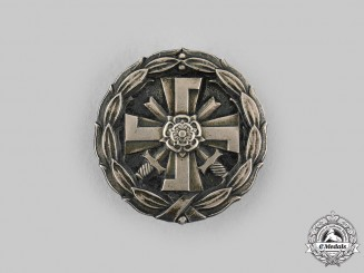 Finland, Republic. A Badge for Disabled Military Veterans of the 1939-1945 War, c 1945