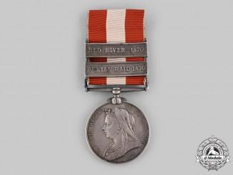 Canada. A Canada General Service Medal 1866-1870, Ontario Rifles, Red River Bar