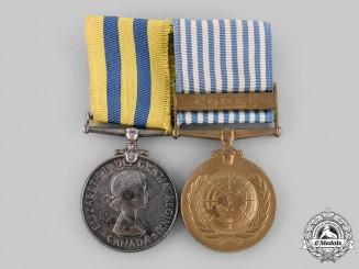 Canada, Commonwealth. A Korean War Pair, to J.L. Roy