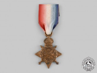 United Kingdom. A 1914 Star, to Private John S. McLeod, 1st Regiment, 6th Battalion Gordon Highlanders