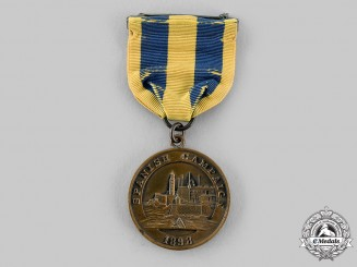 United States. A Navy Spanish Campaign Medal 1898