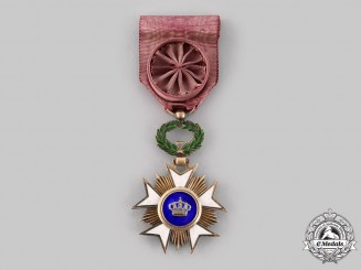 Belgium, Kingdom. An Order of the Crown, Officer