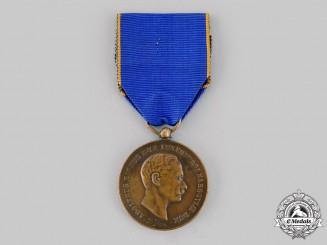 Luxembourg, Grand Duchy. A Medal of Merit, III Class Bronze Grade, c.1930
