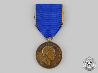 Luxembourg, Grand Duchy. A Medal of Merit, III Class Bronze Grade, c.1930