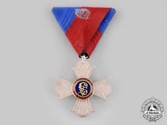 Liechtenstein, Principality. An Order of Merit of the Principality of Liechtenstein, Knight,c.1945