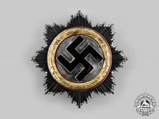 Germany, Wehrmacht. A German Cross in Gold, by C.F. Zimmermann
