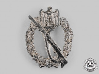 Germany, Wehrmacht. An Infantry Assault Badge, Silver Grade, by Josef Feix & Söhne