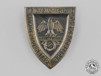 Germany, RNST. A 1934 Reichsnährstand Grottkau Regional Farmers' Day Badge