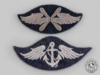 Germany, Luftwaffe. A Pair of Luftwaffe Specialist Sleeve Insignia