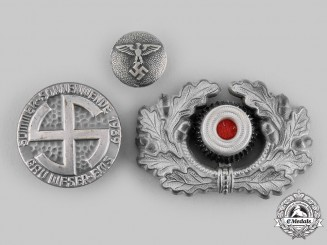 Germany, Third Reich. A Lot of Insignia