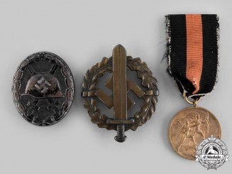 Germany, Third Reich. A Lot of Medals and Badges