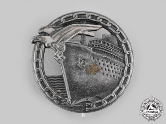 Germany, Kriegsmarine. A Blockade Runner Badge, by Förster & Barth