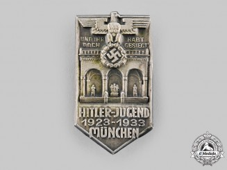 Germany, HJ. A 1933 Munich Commemorative Badge