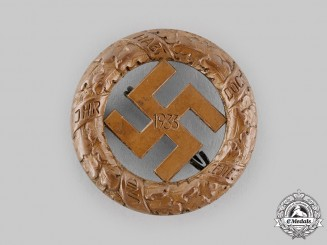 Germany, NSDAP. A 1933 Gau Munich Event Badge