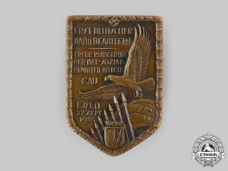 Germany, NSDAP. A 1933 Gau Essen Civil Servants Commemorative Badge by Paulmann & Crone