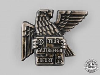 Germany, NSDAP. A 1933 Gau Thuringia Meeting Badge
