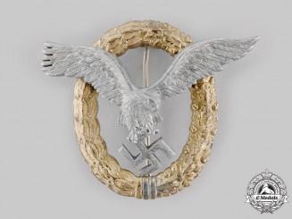 Germany, Luftwaffe. A Pilot & Observer Badge, by Friedrich Linden