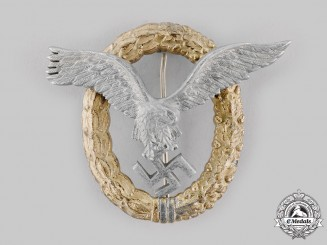 Germany, Luftwaffe. A Pilot & Observer Badge, by Friedrich Linden