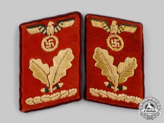 Germany, NSDAP. A Set of Gau-Level Oberbereichsleiter Collar Tabs