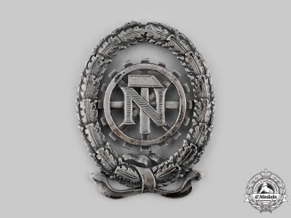 Germany, TeNo. A Technical Emergency Help (TeNo) Honour Badge in Silver