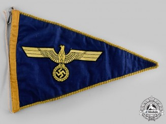 Germany, Kriegsmarine. A Vehicle Pennant