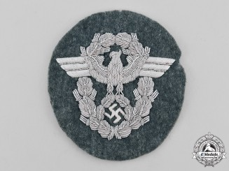 Germany, Ordnungspolizei. An Officer's Sleeve Insignia