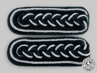 Germany, Heer. A Set of Army Administration Officer's Shoulder Boards