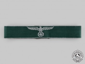 Germany, Third Reich. A Customs Officer Cuff Title