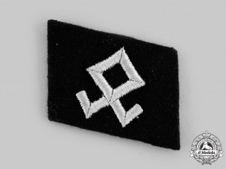 Germany, SS. A 7th SS Volunteer Mountain Division Prinz Eugen Collar Tab