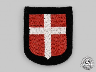 Germany, SS. A Waffen-SS Free Corps Denmark Sleeve Shield