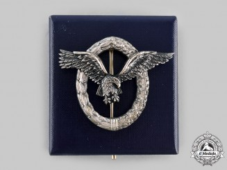 Germany, Federal Republic. A Pilot's Badge, with Case, 1957 Version