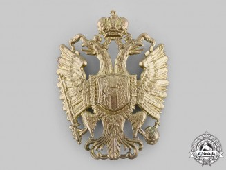 Austro-Hungarian Empire. An Officer's Helmet Plate