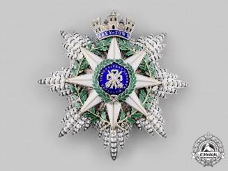 Nicaragua, Republic.  An Order of Saint John of Grey Town, Grand Commander Star, by Chobillon, c. 1900