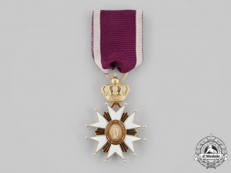 Italian States, Grand Duchy of Tuscany. An Order of Saint Joseph in Gold, I Class Knight, c.1855