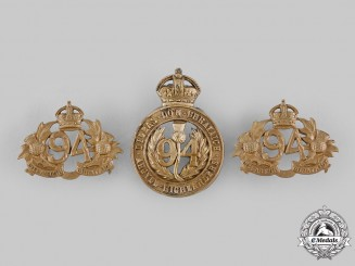 Canada, Dominion. A 94th Victoria Regiment (Argyll Highlanders) Set, by J.R.Gaunt, c.1904