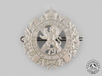 Canada, Dominion. A 79th Cameron Highlanders of Canada Bonnet Badge c. 1910