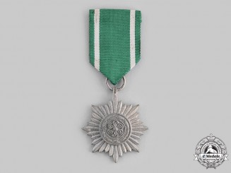 Germany, Wehrmacht. An Eastern People's Medal, II Class, Silver Grade