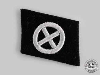 Germany, SS. A Waffen-SS Turkestan Volunteer Collar Tab