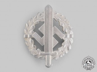 Germany, SA. A Sports Badge, Silver Grade, by Berg & Nolte